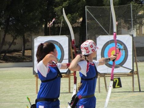 Finales. Lucía Parramón y Natalia Izquierdo.